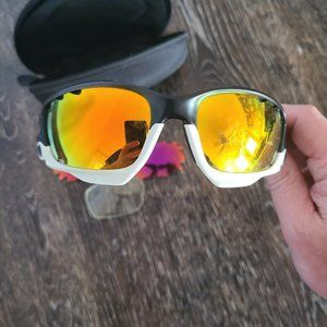 Oakley Racing Jacket Custom with 3 sets of lenses
